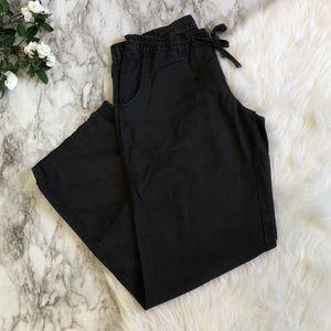 Gap Factory Navy Blue Linen Pant Size 10R